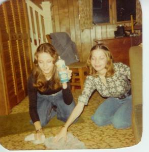 Lisa and I, c. 1976
